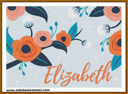 Custom Name - Blossom 5D Full Coverage Diamond Painting Kit