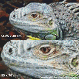 Green Lizard Full Coverage 5D Diamond Painting Kit