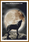 Moonlit Wolf Full Coverage 5D Diamond Painting Kit