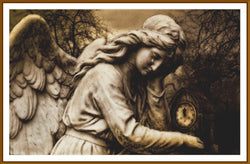 Sad Angel 5D Full Coverage Diamond Painting Kit