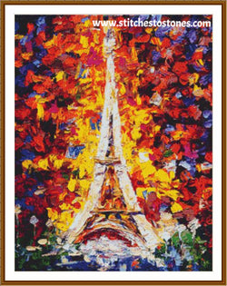 Splash of Paris Diamond Painting