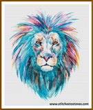 The Modern Lion Diamond Painting