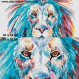 The Modern Lion Full Coverage 5D Diamond Painting Kit