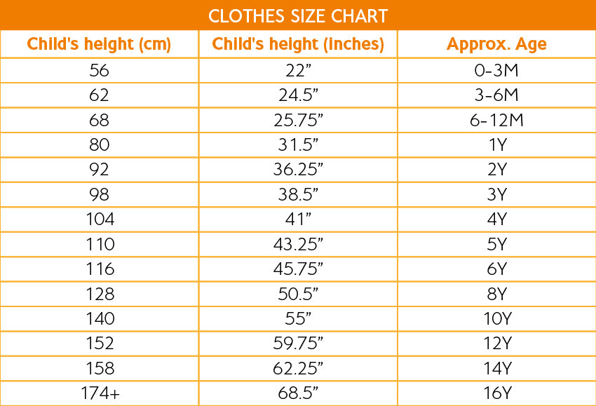 Clothes Size