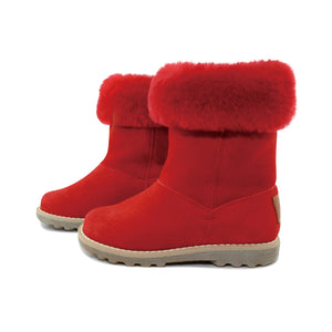 HULA SUEDE BOOTS FUR