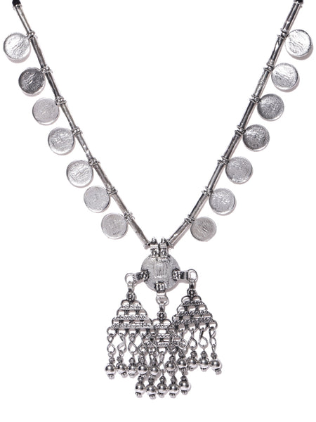 Infuzze Alloy Coin Necklace - H017
