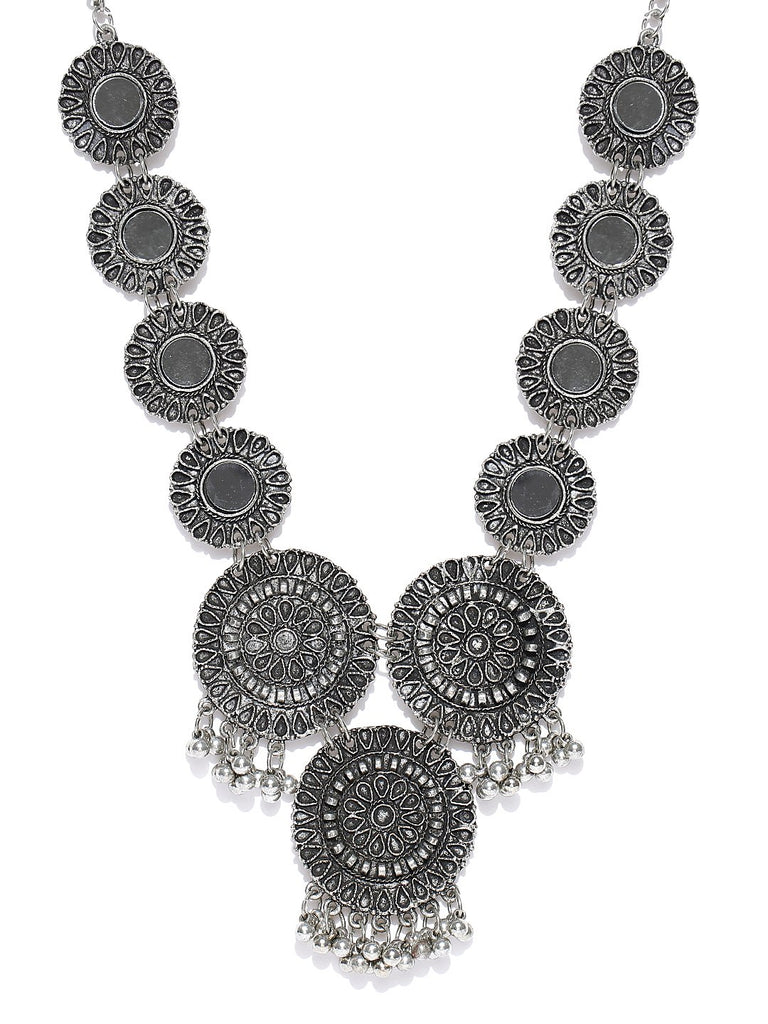 Alloy Mirror Necklace