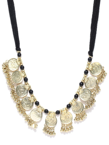 Infuzze Gold-Toned Necklace