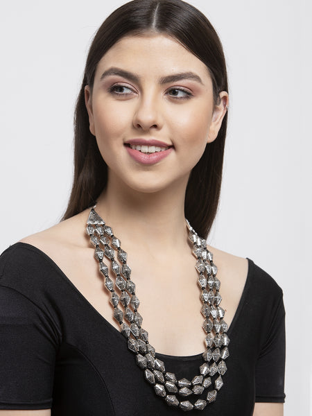 Infuzze Women Brass-Plated Layered Necklace -PR0192