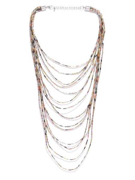 Infuzze Gold-Toned Layered Necklace - Q059