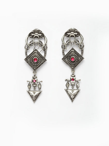 Infuzze Silver Earrings