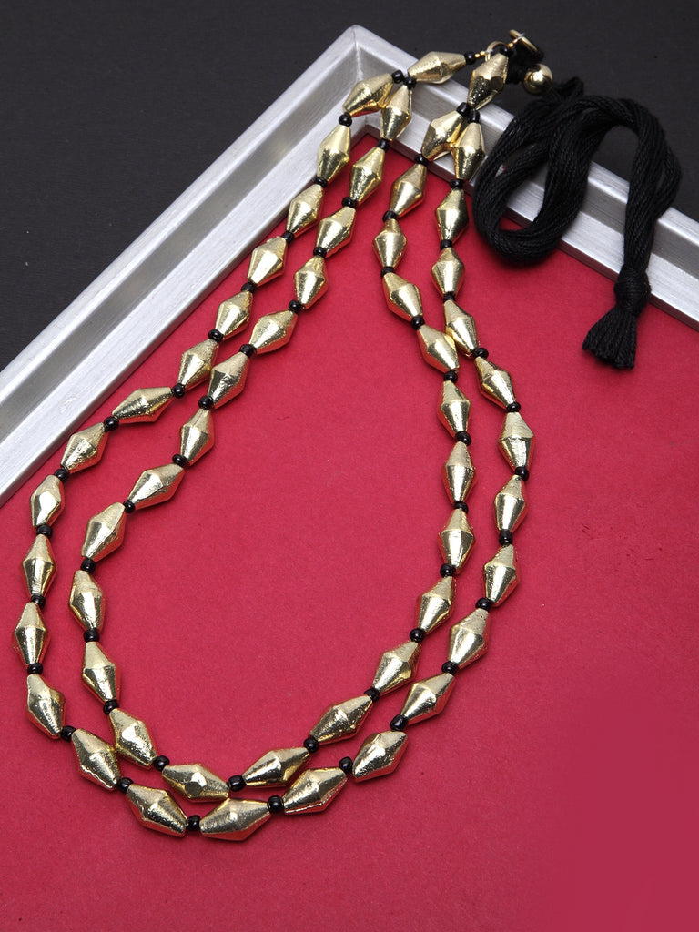 Infuzze Gold Layered Necklace