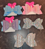Glittery Hairbows