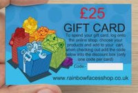 £25 Gift Card in a small gift box