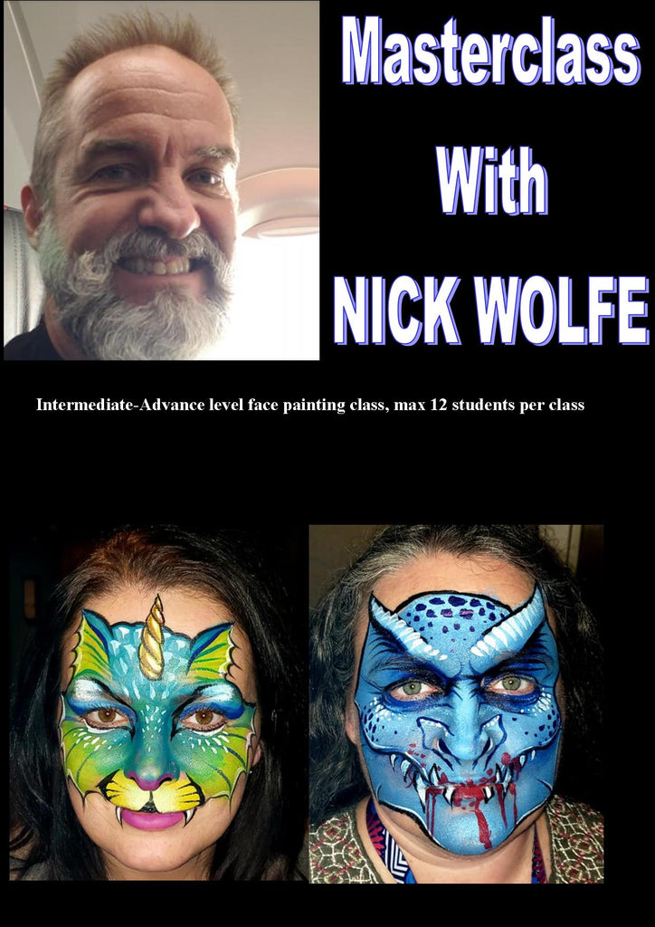 1 Day Masterclass with Nick Wolfe