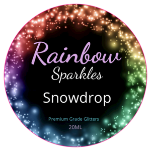 Rainbow Sparkles Glitter Dusts in puffers and pots