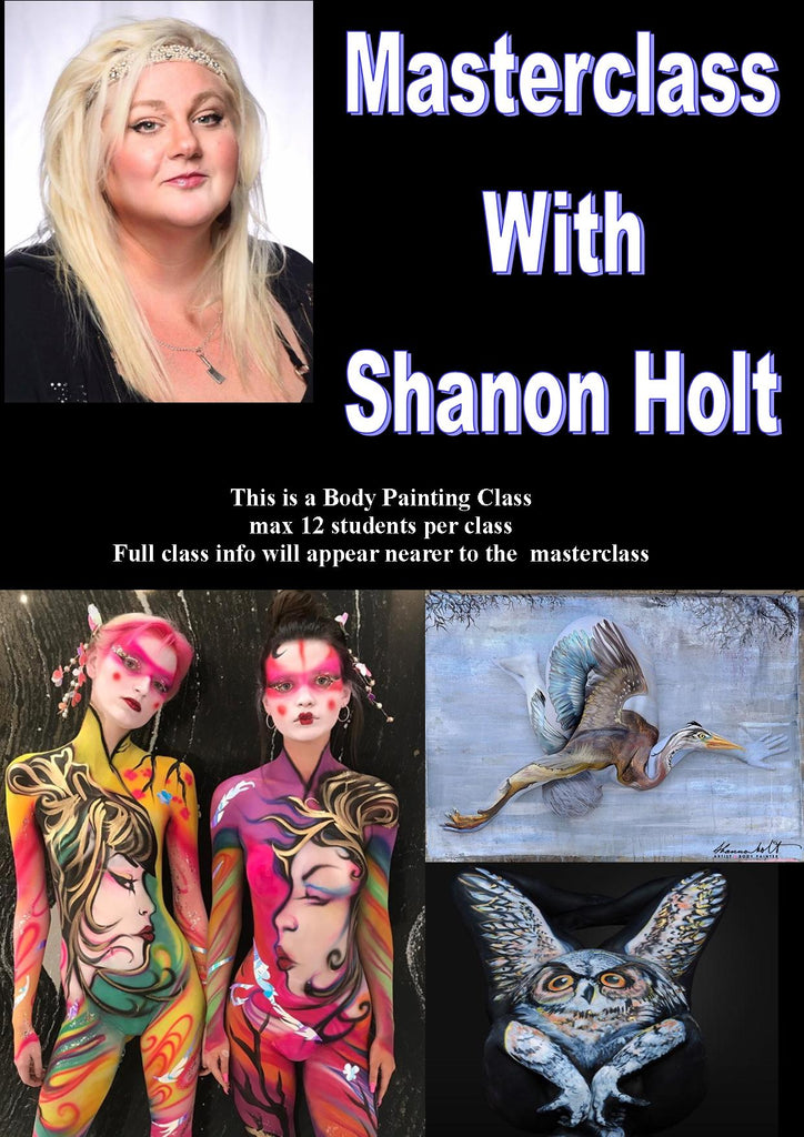Body Painting Master Class with Shanon Holt