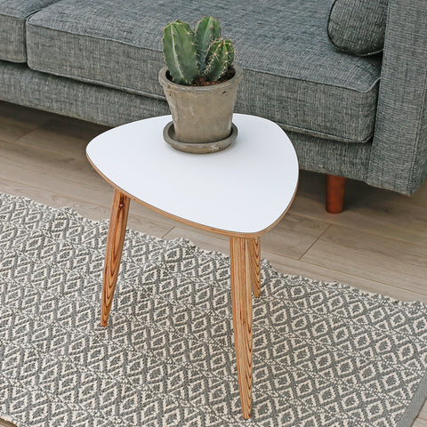 Pebble Table | White