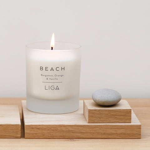 Beach Candle | Bergamot, Orange & Vanilla