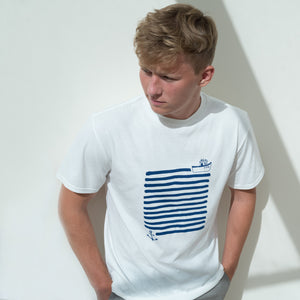 Organic Adult T Shirt | Boat & Anchor