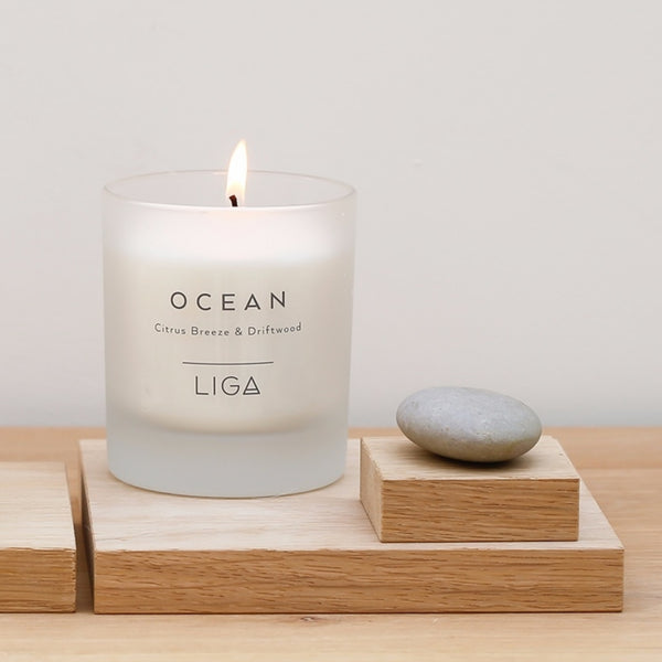 Ocean Candle | Citrus Breeze & Driftwood