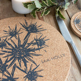 Cork Mats | Sea Holly