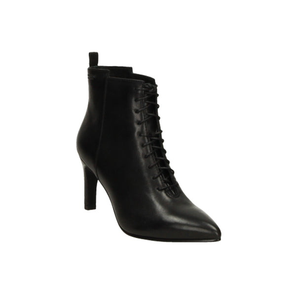 Laced Heeled Boot