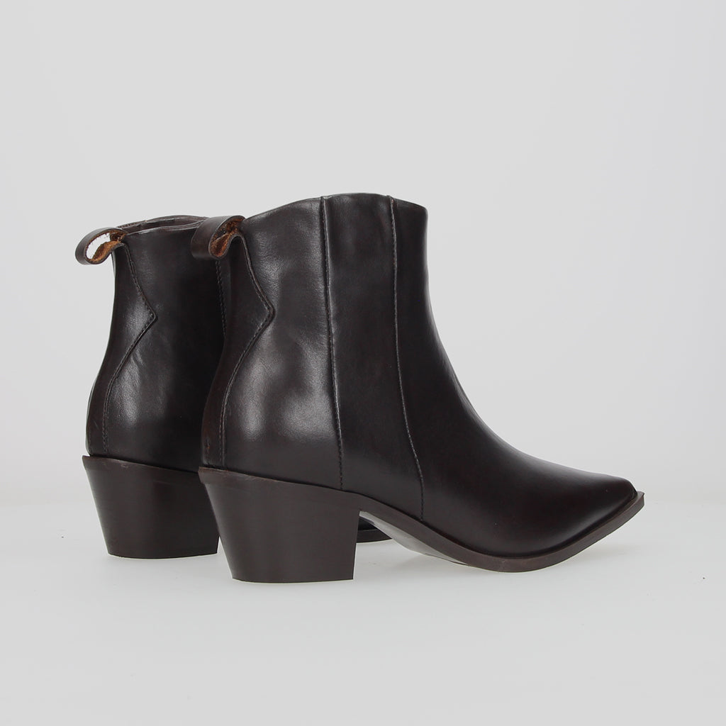 Crosswalk Ankle Boot Dark Brown