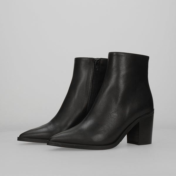 Stiù Shop - Stiu Ankle Boot Black Leather