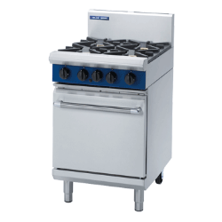 Blue Seal Evolution Series 600mm Gas Range Static Oven