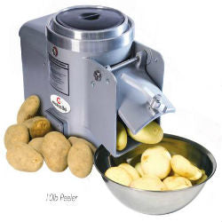 Metcalfe Bench Mounted Potato Peeler