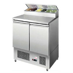 Valera 1/1 GN Refrigerated Salad Prep Counter