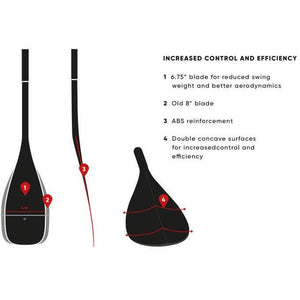 Fanatic Paddle Carbon 80 Adj. 3-teilig 2.0 - Stand Up Paddle - Stand Up Paddling - Paddleboarding