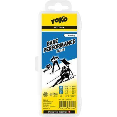 TOKO Base Performance Blue Training Hot Wax 120g