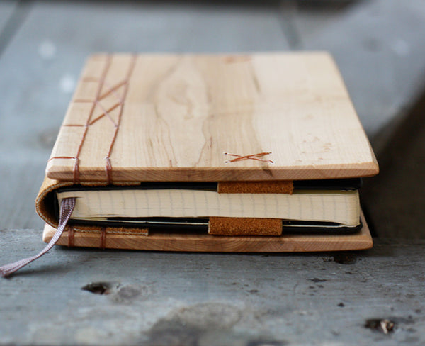 Maple Wood Journal Cover