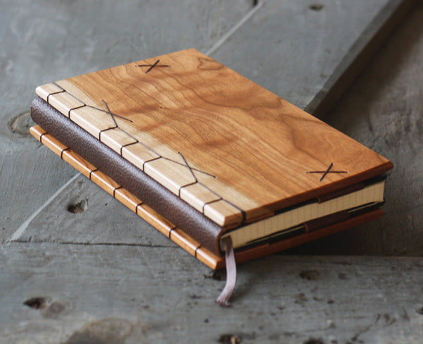 Cherry Wood Journal Cover
