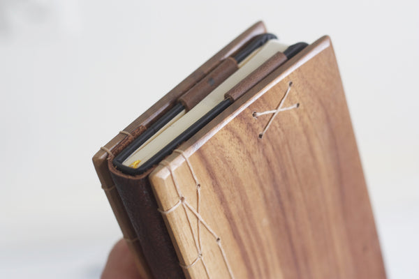 Small Wood Journal Cover