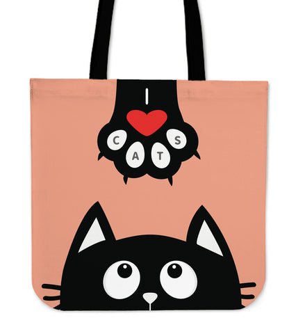 Cat Paw Tote Bag