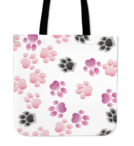 Cute Paws Cat Tote Bag