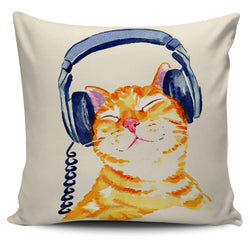 Cool Cat Cover Pillow Cover