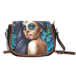 Calavera Girl Saddle Bag