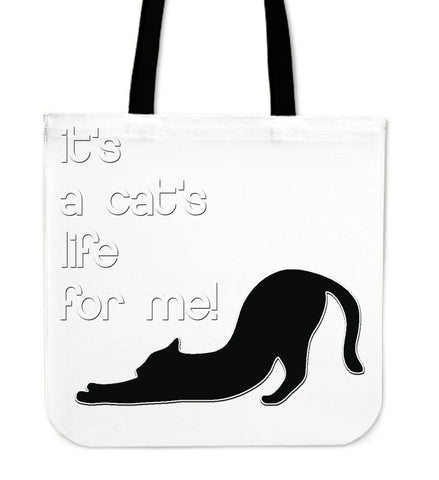 Cats Life Tote Bag