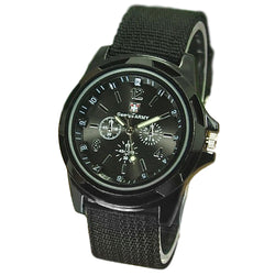 Military Army Analog Wrist Watch Canvas Strap