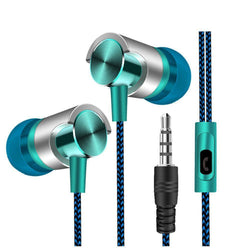 3.5mm Wired Earphone With Microphone