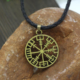 Norse Viking Vegvisir Pendant With Runes Offer