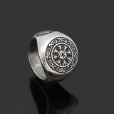 Norse Viking Valknut Ring With Gift Bag