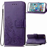 Samsung Leather Flip Wallet Phone Case