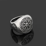 Norse Viking Valknut Ring Offer