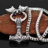 Thor's Hammer Mjolnir Necklace