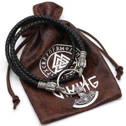 Viking Axe Pendant/Necklace With Gift Bag